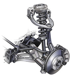 Tech Tip: Worn or Broken Chassis Parts can Cause a Variety of Problems