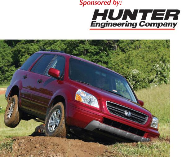Alignment & Suspension Specs: 2003-2008 Honda Pilot