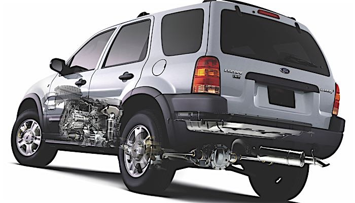 2001 Ford Escape Parts Diagram