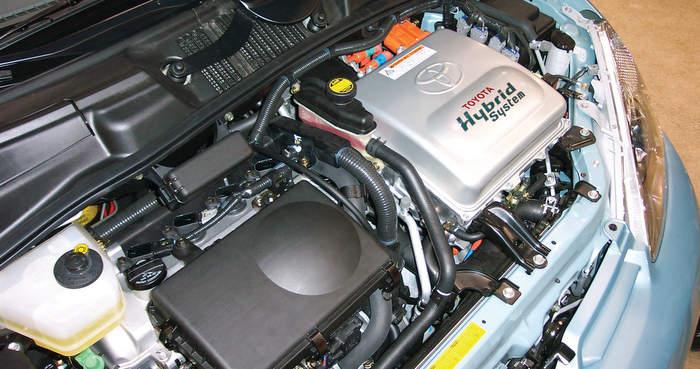 Hybrid Toyota Brake Job