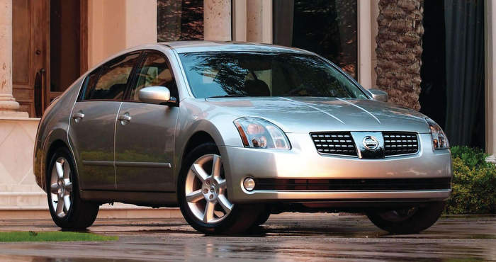 Nissan-Maxima_2004 Brake Job