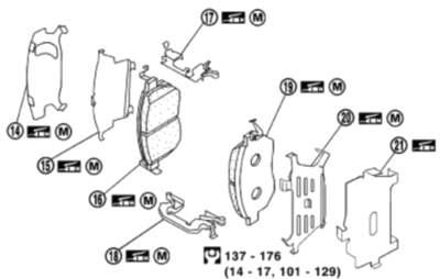 Front Disc Brake Component • 2007 Nissan Maxima •