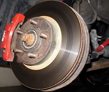 brake rotor noise