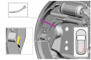 Parking Brake Cable Adjustment - General Procedures • 2013 For