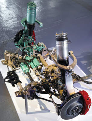 Range Rover subframe air ride