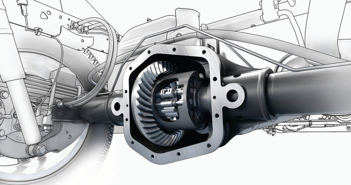 2015 GMC Canyon Automatic Locking Rear Differential