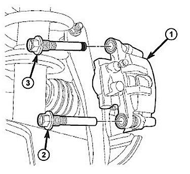 BRAKE JOB: 2010-14: Chrysler Sebring/200 + Dodge Avenger