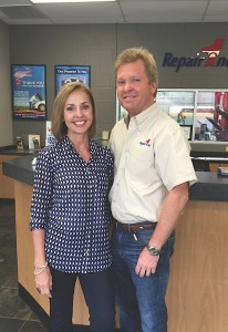 Repair One Automotive owners Brent and Brenda O'Neal