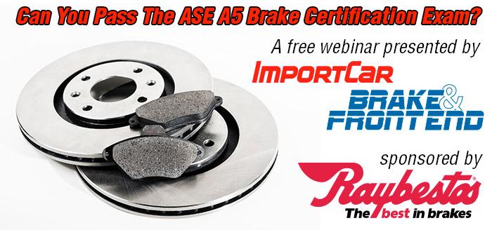 ase brake webinar a5 pass