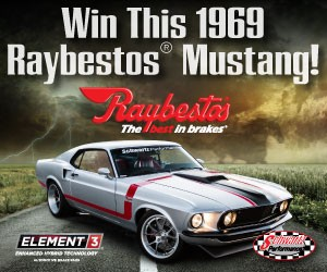Win this Mustang