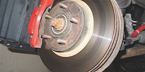 brake contamination friction