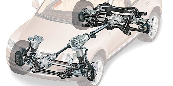 2003-2010 VW Touareg Air Ride Suspension Repair And
