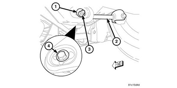 alignment specs 2011 2014 chrysler 200 Chrysler 3.5 Engine Diagram rear suspension there are no built in adjustments for camber on the 200 if there is an issue with camber inspect the bushings in the knuckle and links for