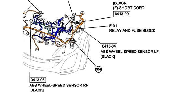 2004-2013 Mazda3 Brake Job