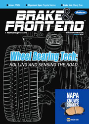 Brake & Front End Magazine: Auto Brake Repair Shop, Cars, Trucks