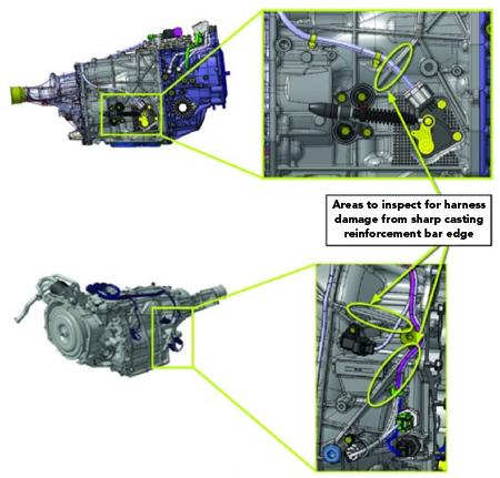Tech Tip: Subaru Impreza With DTCs P0705, P0851, P2746, P2750 And/Or