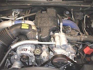 2003 chevy diesel engine