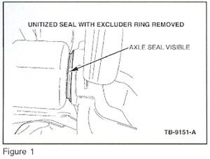 Ford Tech Tip: Drivetrain - Rear Axle Seal(s) Leaking