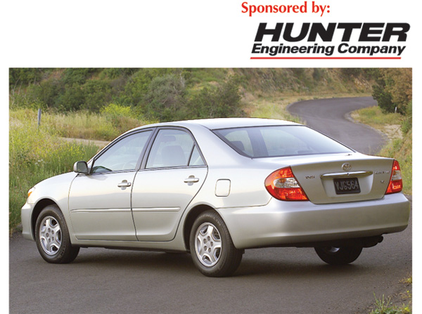 Tech Tip: Alignment Specs for 2002-2006 Toyota Camry