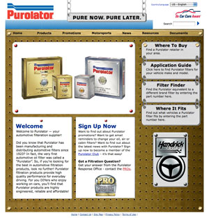 purolator publishes comprehensive 2008 automotive filter catalog with  significantly wider coverage