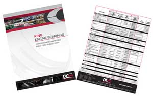 New Application Guide from King Engine Bearings